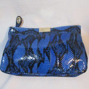 NEW JIMMY CHOO Python Snakeskin Leather Clutch Bag